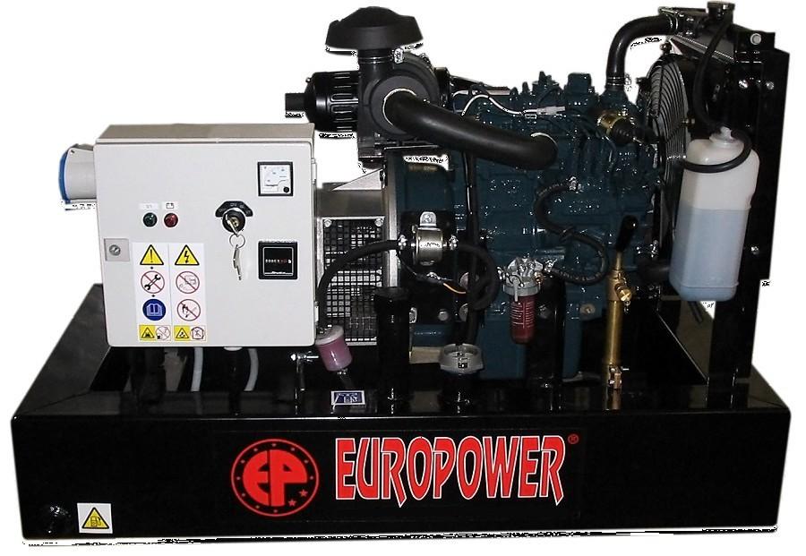 Генератор дизельный Europower EP 30 DE в Евпаторияе