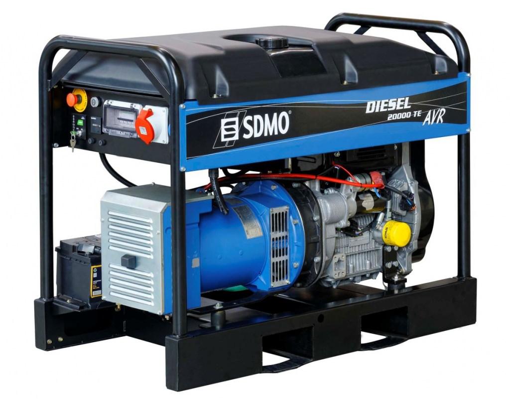 Генератор SDMO DIESEL 20000 TE XL AVR C в Евпаторияе