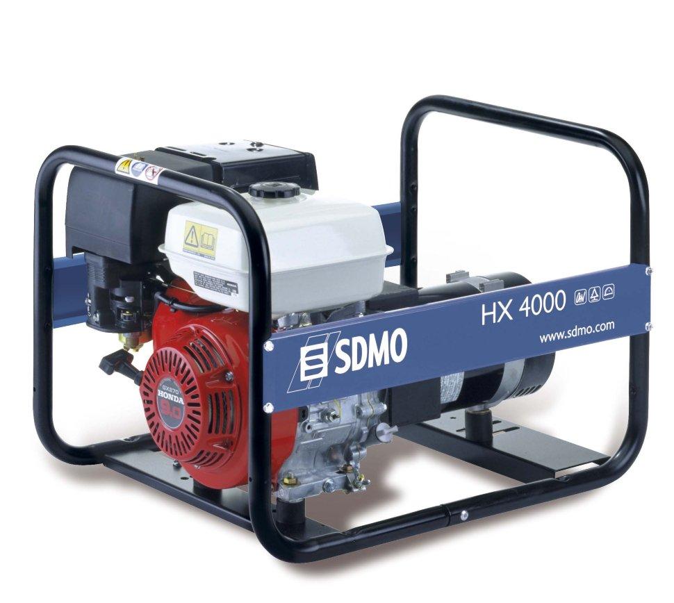 Генератор SDMO HX 4000-S в Евпаторияе