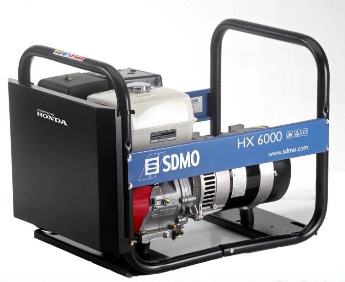 Генератор SDMO HX 6000-S в Евпаторияе