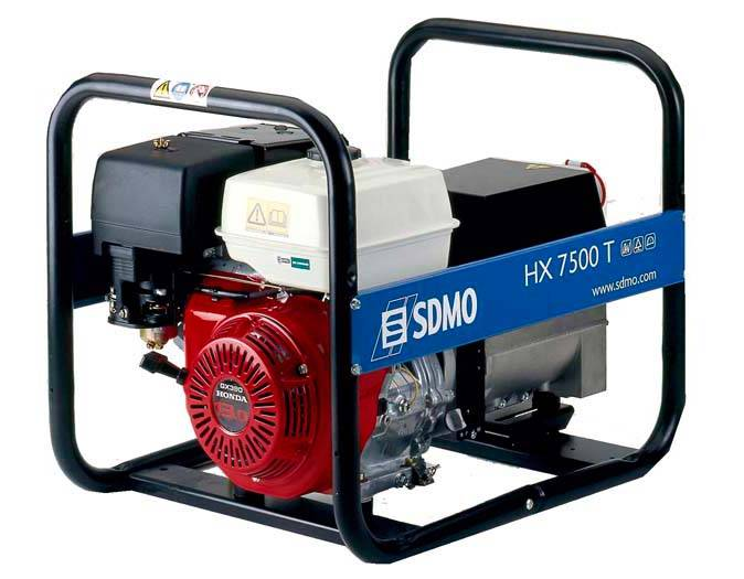 Генератор SDMO HX 7500 T-S в Евпаторияе
